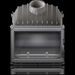 Дровяные топки для каминов Piazzetta (Италия), Форма стекла Прямое стекло, Диаметр дымохода 200 мм
