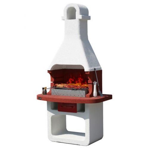 COMO Барбекю из огнеупорных материалов, выдвижной зольник