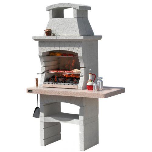 KENYA LX CRYSTAL Уличная дровяная печь с многоуровневой решеткой