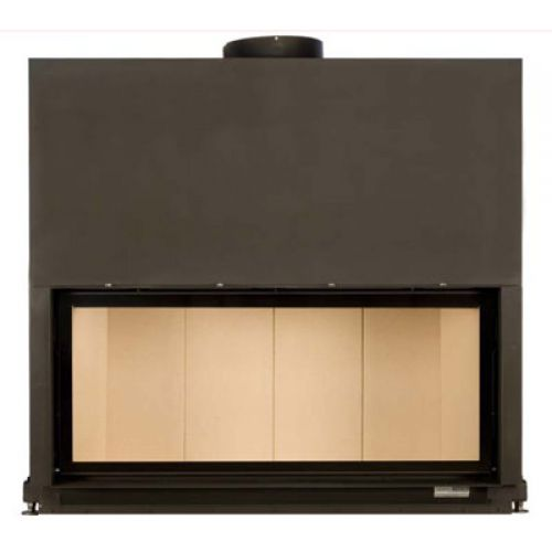 Architektur-Kamin 53/121 flach с вертикальным открытием дверцы (Топки) Brunner топки (Германия)