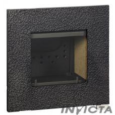 Invicta Decor Roche 550 - Каминная вставка с квадратной рамкой