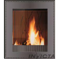 Invicta Decor Vertical Cuir (Куир вертикаль) - Вертикальная топка с прямым стеклом