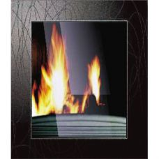 Invicta Decor Vertical Symphonie (Симфония вертикаль) - Чугунная каминная топка на дровах