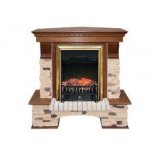 Портал Royal Flame Pierre Luxe угл. сланец/сланец белый под очаг Majestic FX / Fobos FX