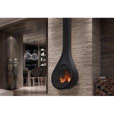 Drop - подвесной камин из огнестойкой стали