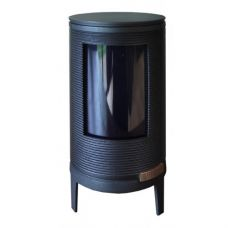 Okino - Круглая печка с большим смотровым окном