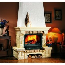 Supra Tosca - Модель камина из камня в стиле кантри